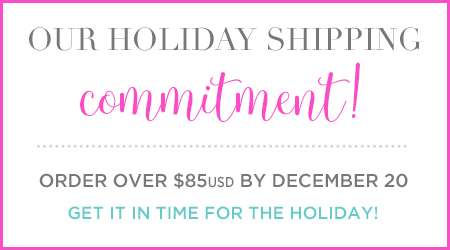 Our Holiday Shipping Commitment