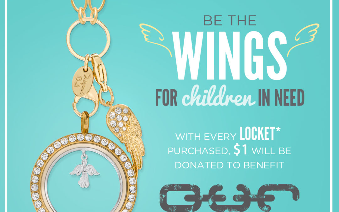 Be the Wings for Children in Need with Limited-Time Promotion