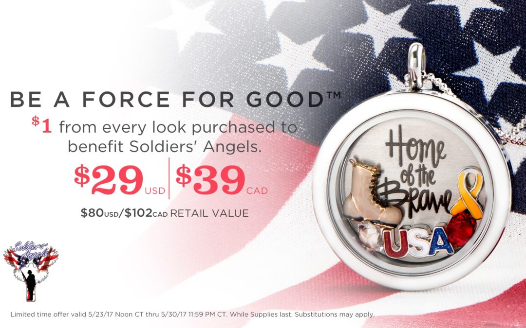Give Back with Our Military Appreciation Exclusive Force For Good Looks