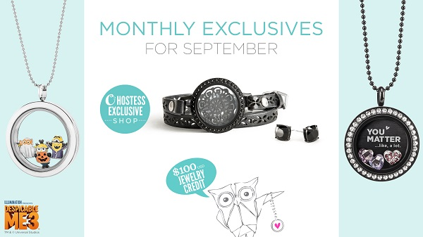 September Exclusives to Kick Off Your Fall!