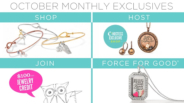 October Monthly Exclusives to Kick Off the Holiday Selling Season