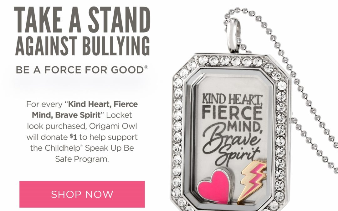 Take a Stand Against Bullying with October Force For Good Look