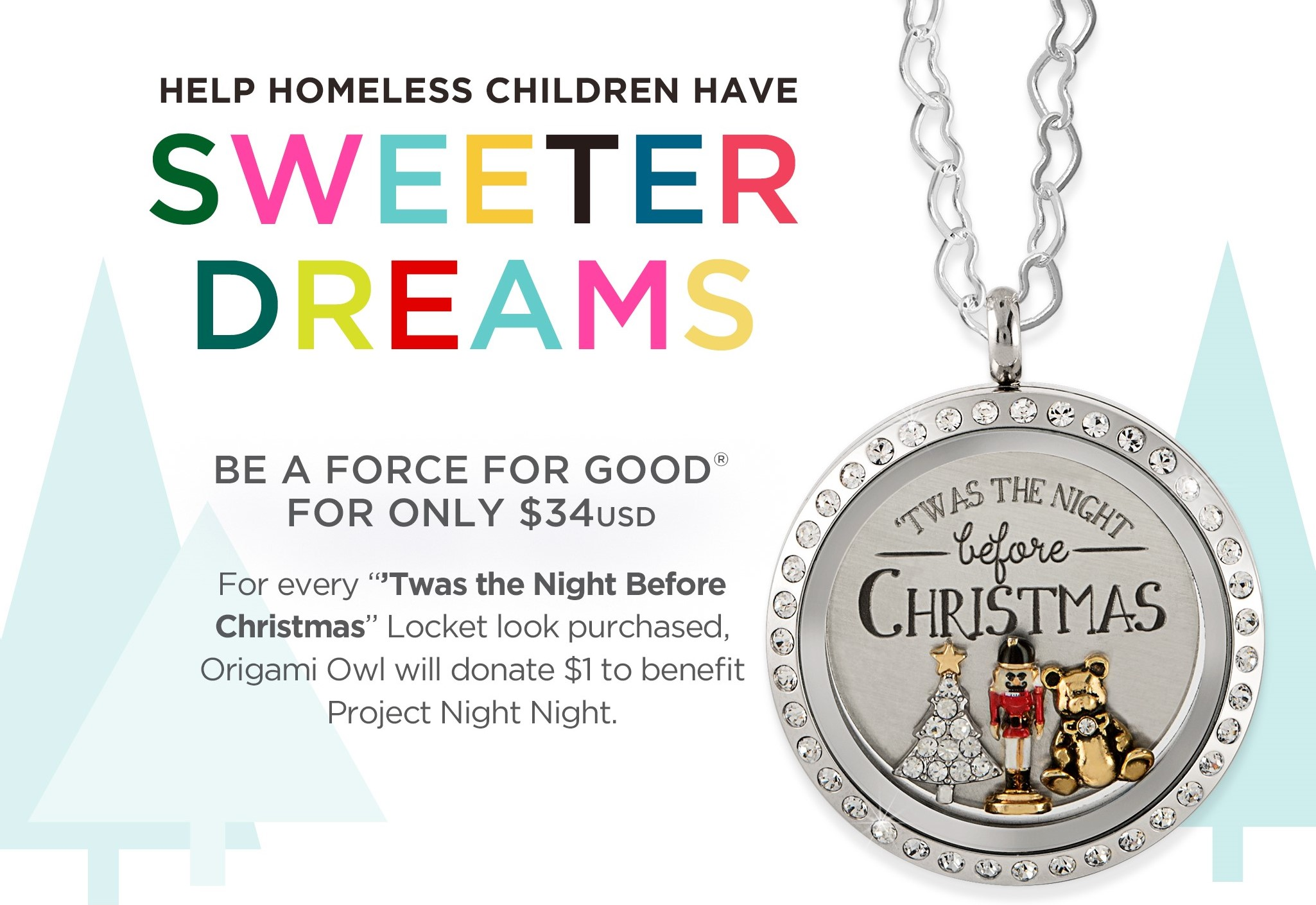 Help homeless children have sweeter dreams with our november force help homeless children have sweeter dreams with our november force for good look origamiowlnews jeuxipadfo Gallery