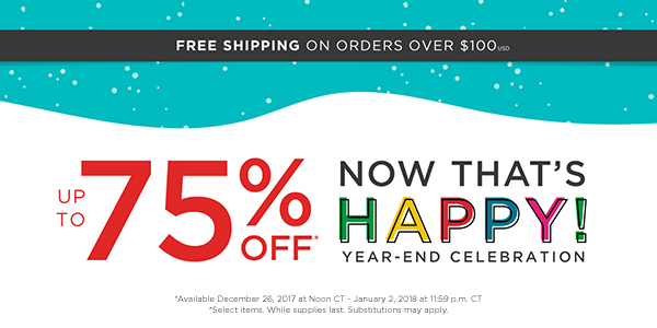 Keep the Celebration Going with Up to 75% Off Select Jewelry