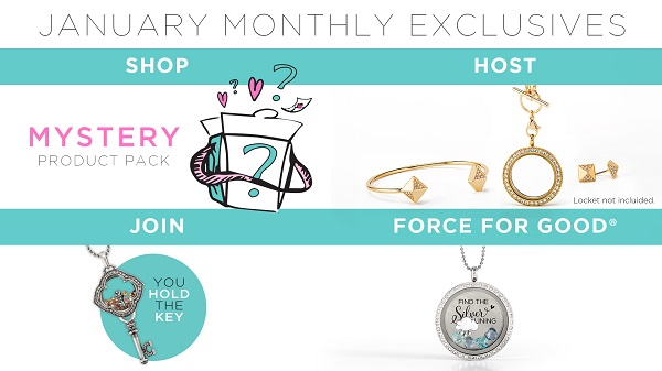 January Exclusives to Spring into Action!