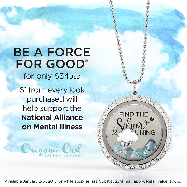 Be A Force For Good In January With Our Find The Silver Lining