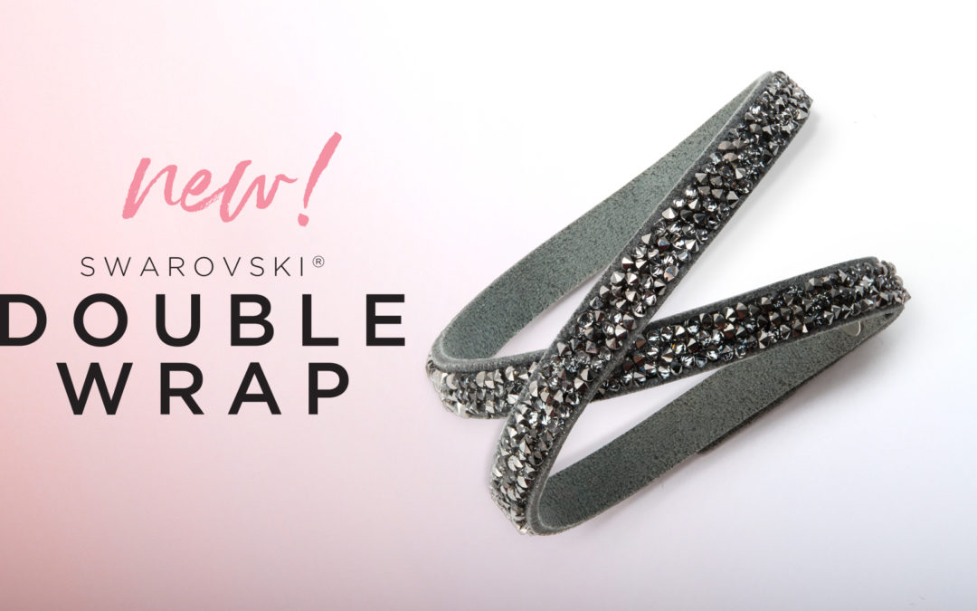 New Crystal Metallic Silver Swarovski Wrap Bracelet is Here + Give Your Customers 15% Off
