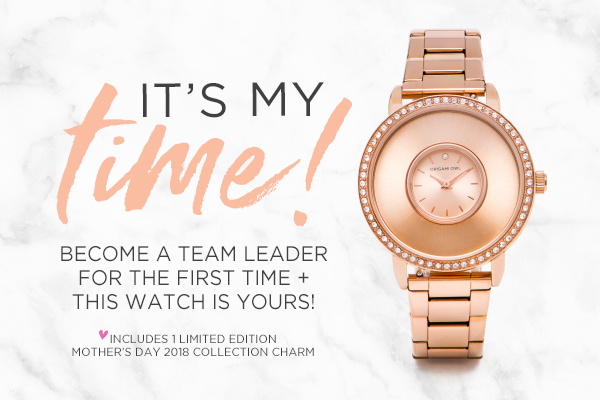 """It's My Time!"" to Earn the Rose Gold Signature Living Locket® Watch"