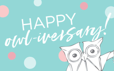 It's Your Owl-iversary!