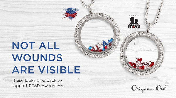Help a Hero with Our June Force For Good® Locket Sets