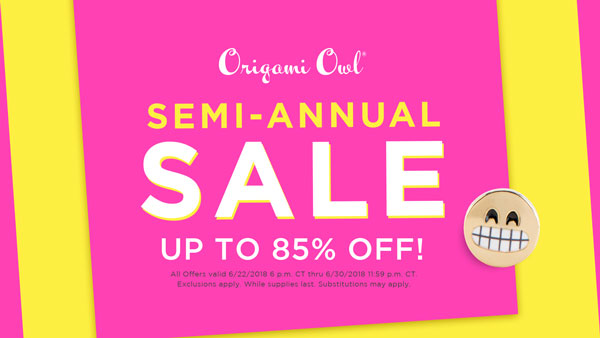 Origami Owl®'s BIGGEST Sale Ever Starts Today
