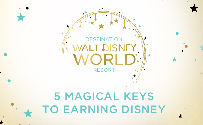 5 Magical Keys to Earning Disney