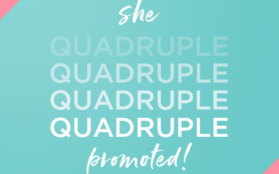 How One Designer Quadruple Promoted During Their Enrollment Month!