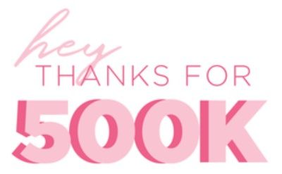 THANK YOU! Exclusive Coupon For Achieving Facebook Milestone