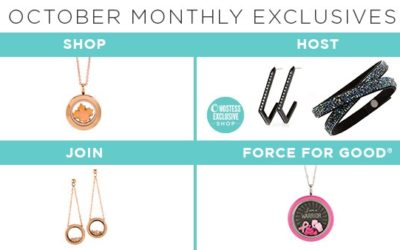 Own Your October with These Monthly Exclusives!