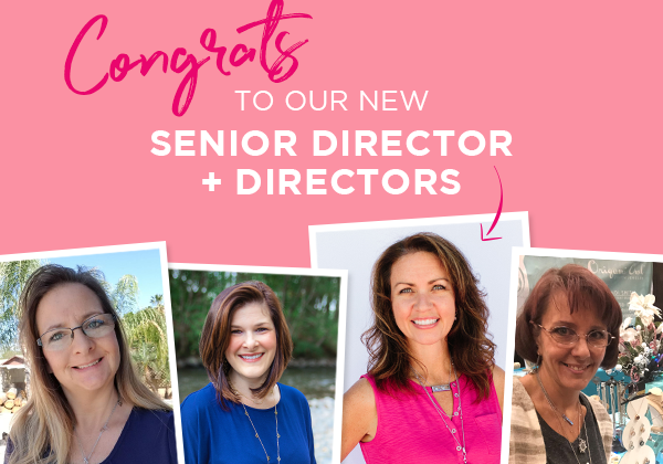 Moving On Up: Meet Our New Senior Director and Directors!