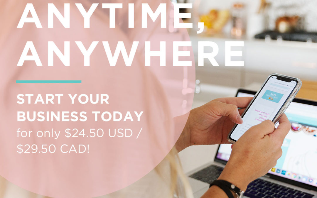 """""""Anytime, Anywhere"""" Limited-Time On-the-Go Starter Kit Promotion"""