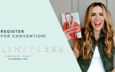 Register for Convention in May + You Could Win a Signed Copy of Rachel Hollis' Book!
