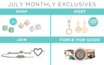 NEW! Monthly Exclusives for July are Here!