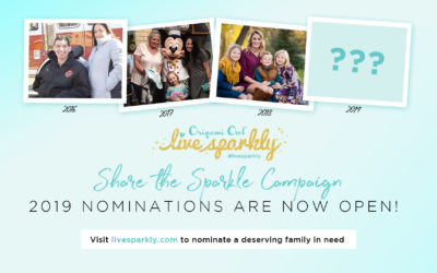 Give Back to Live Sparkly & Check Out the New LiveSparkly.com