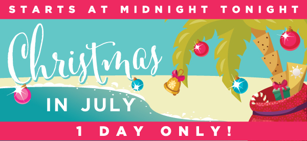 Christmas In July Free Graphics.Christmas In July Free Standard Shipping Mystery Stocking