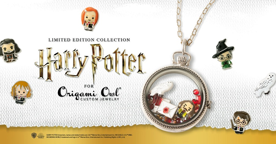 More Coming for Limited Edition Harry Potter™ for Origami Owl® Collection + FREE Standard Shipping!