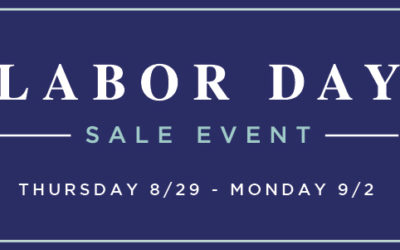 Get Ready for the Labor Day Sale Event