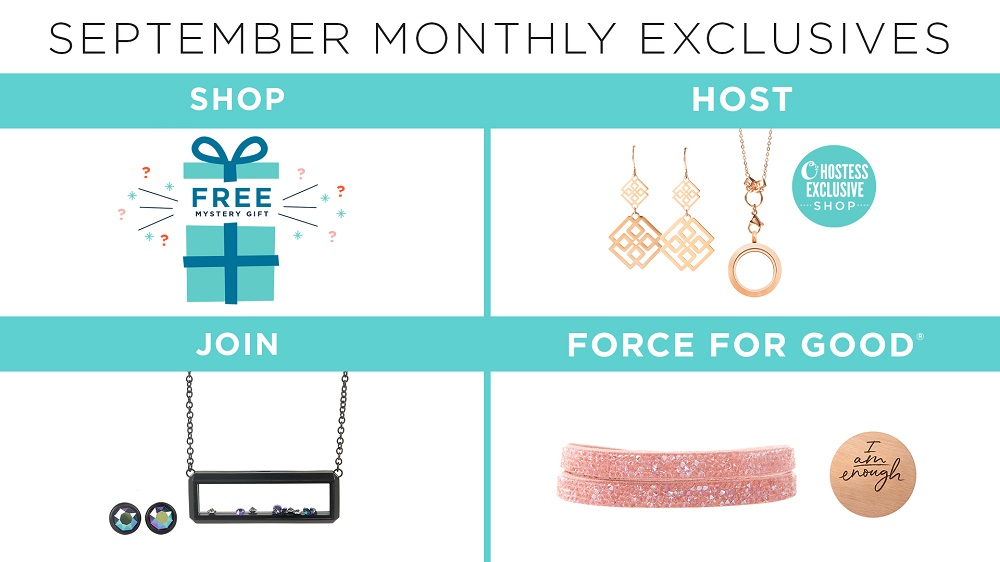 Share the O2 Love with Our September Monthly Exclusives