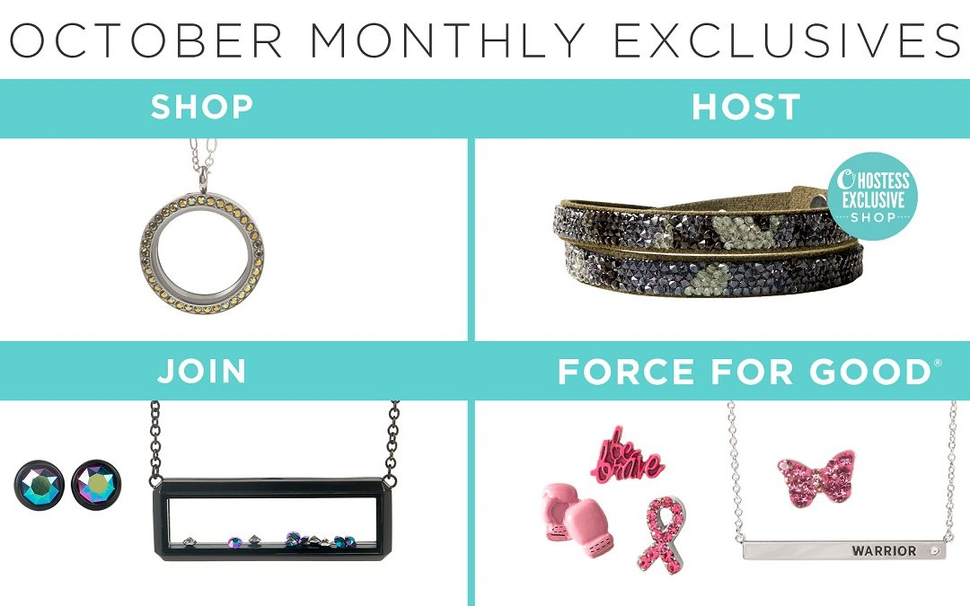 Kick Off the Holiday Selling Season with Our October Exclusives