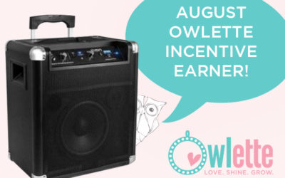 Whooo Earned an Ion Bluetooth Speaker in August?