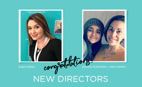Moving on Up: Meet Our Two, New Directors!