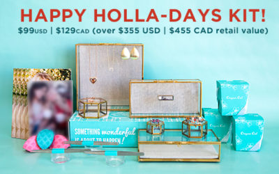 Limited-Time Happy Holla-Days Kit is Here…and It's WAY Better Than Retail Work