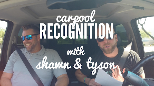 Take a Ride with O2 Co-Founders Shawn & Tyson for September Recognition