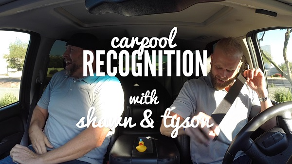 Carpool Recognition: Shawn + Tyson Interview The Nest Employees!