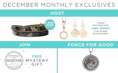 Make the Holiday Gifting Season Merry and Bright with Our December Exclusives