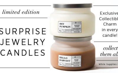 Introducing Our NEW! Limited Edition Surprise Jewelry Candles