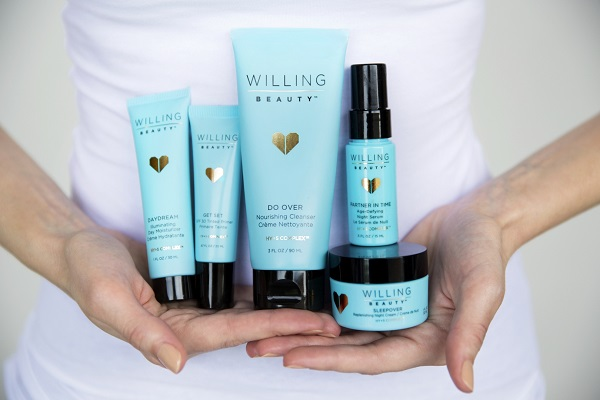 Willing Beauty Skincare Products Available February 18 to U.S. Designers