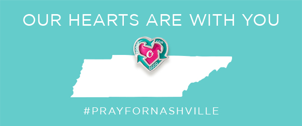Help Nashville Tornado Victims with Force For Good Heart Charm