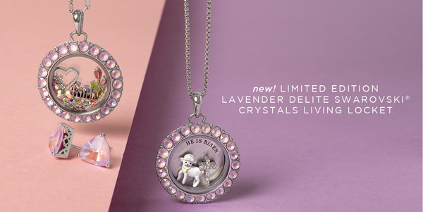 Get the NEW! Lavender DeLite Living Locket® + Easter Mystery Packs While Supplies Last