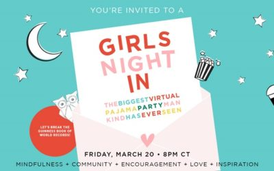 You're Invited to the BIGGEST Girls' Night In PJ Party Ever!
