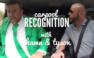 Carpool Recognition: St. Patrick's Day Trivia with Shawn + Tyson