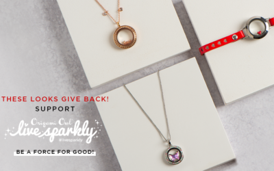 Give Back with Our Live Sparkly Force For Good Shop