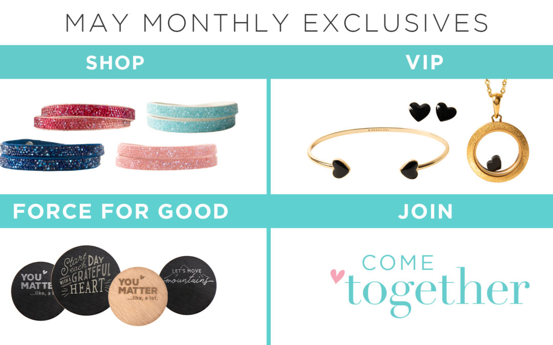 Come Together With New Monthly Exclusives in May
