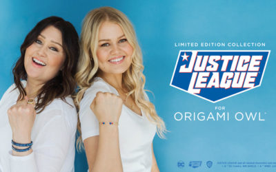 Introducing Officially Licensed Justice League for Origami Owl® Collection