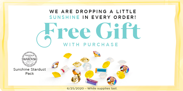 Spread a Little Sunshine with a FREE Gift With Purchase