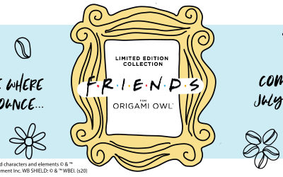 The Officially Licensed Friends for Origami Owl Collection is Coming!