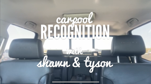 Special June Edition of Carpool Recognition with Shawn, Tyson + Special Guest, Tate