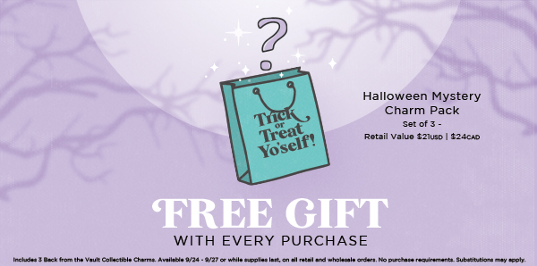 Trick or Treat Yo'Self: FREE Halloween Gift With Purchase + New Sale Items