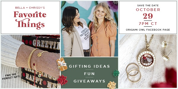 You're Invited: Bella and Chrissy's Favorite Things Event!