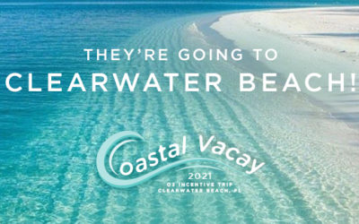 Congratulations to Our First O2 Coastal Vacay 2021: Clearwater Beach Incentive Trip Earners!